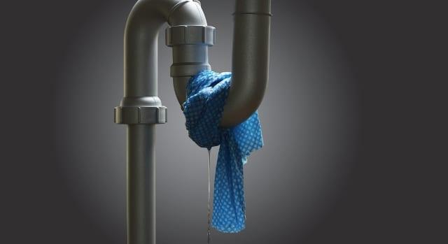 علاج تسربات المياه